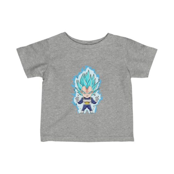 Dragon Ball Z Vegeta Super Saiyan Blue Chibi Art Infant T-shirt