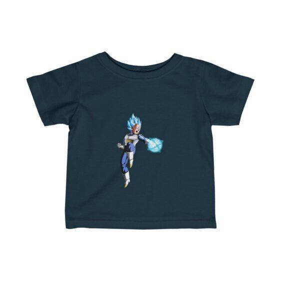 Dragon Ball Z Vegeta Blue Striking Pose Cool Infant T-shirt