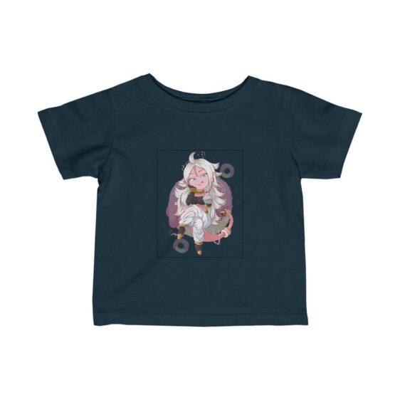Dragon Ball Z Cute Android 21 Beautiful Baby T-shirt