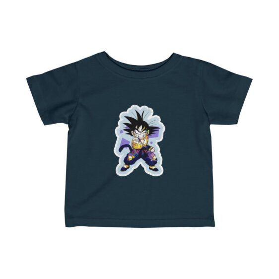 Dragon Ball Z Cute Kid Goku Angry Face Awesome Infant T-shirt