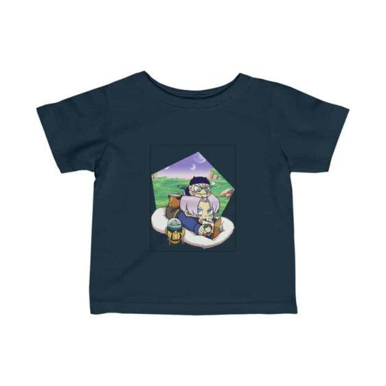 Dragon Ball Z Cute Chibi Trunks Story Telling Excellent Infant T-shirt