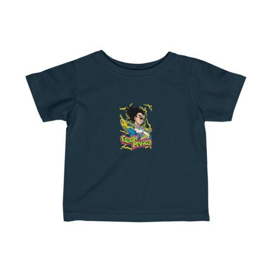 Dragon Ball Z Vegeta Fresh Prince Parody Baby T-shirt