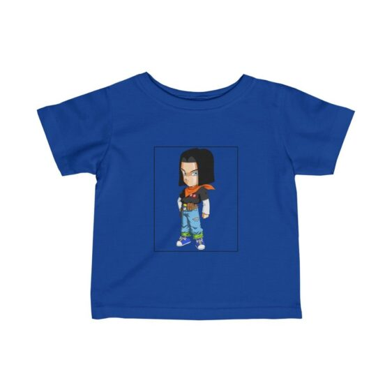 Dragon Ball Z Cute Chibi Android 17 Spectacular Baby T-shirt
