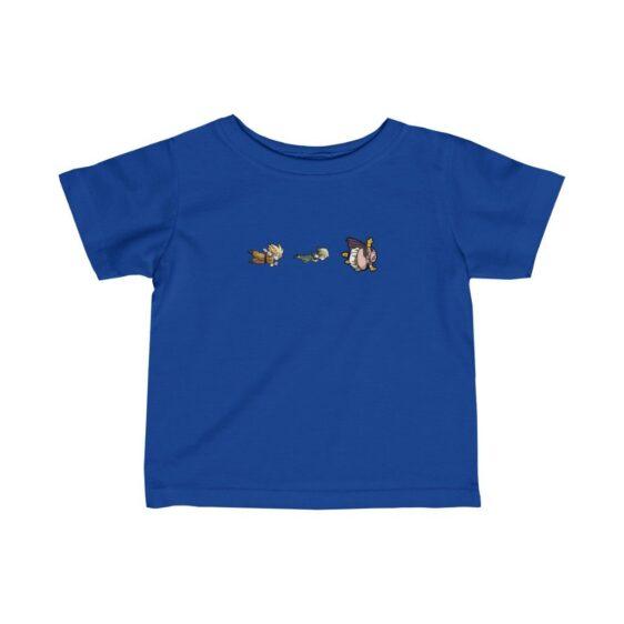 Dragon Ball Android 18 Teen Goku Fat Buu Flying Infant T-shirt