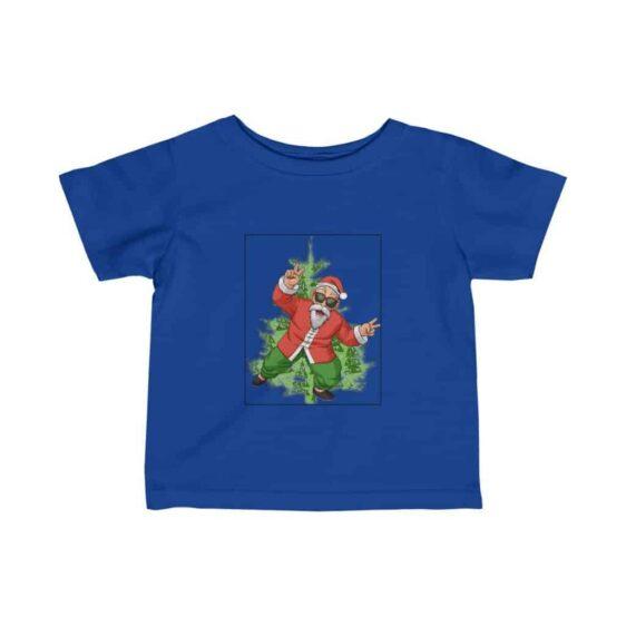 Dragon Ball Z Awesome Santa Master Roshi Dazzling Infant T-shirt