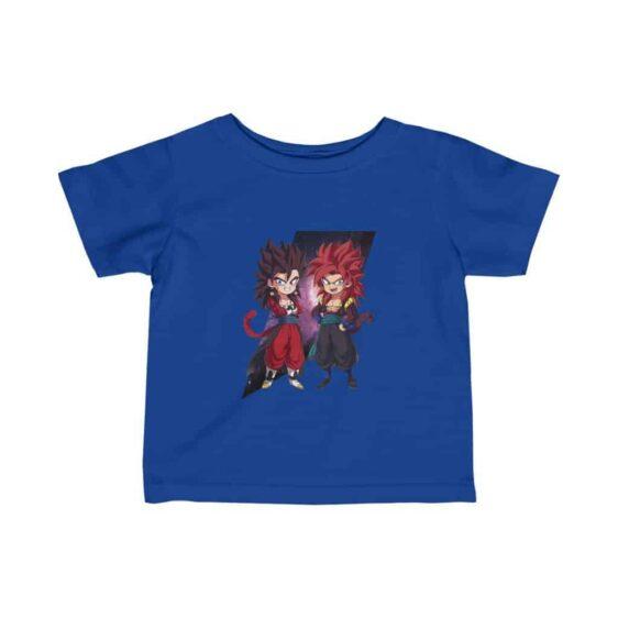 Dragon Ball Z Cute Chibi Vegito and Gogeta Dope Baby T-shirt