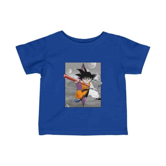 Dragon Ball Z Kid Goku Awesome Pose Cute Fantastic Baby T-shirt