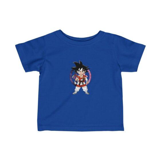 Dragon Ball Z Cute Kid Goku Colored Logo Infant T-shirt