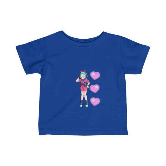 Dragon Ball Teen Bulma Girly Design Adorable Baby T-shirt