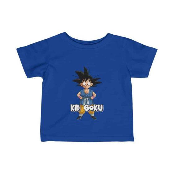 Dragon Ball GT Kid Goku Bubble Charming Adorable Infant T-shirt