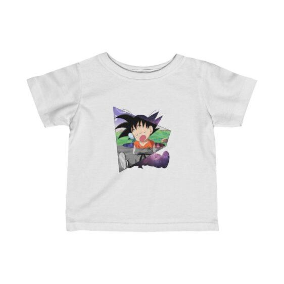 Dragon Ball Z Cute Kid Goku Sleeping Baby T-shirt