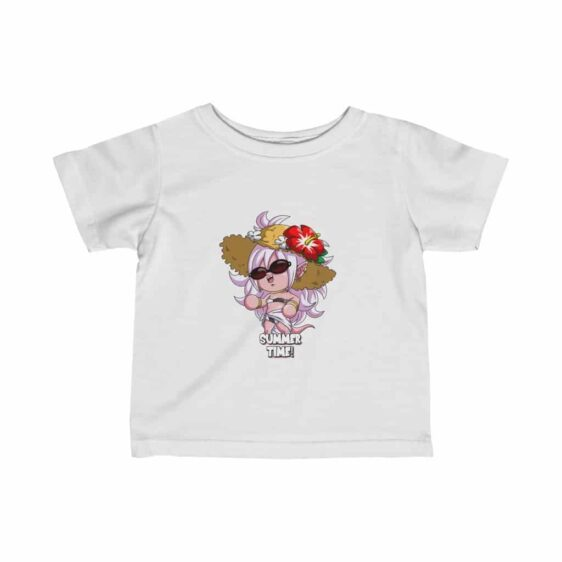 DBZ Cute Adorable Android 21 Chibi Summer Edition Baby T-shirt