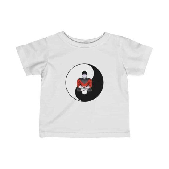 DBZ Tournament Of Power Meditating Jiren Yin Yang Infant T-shirt