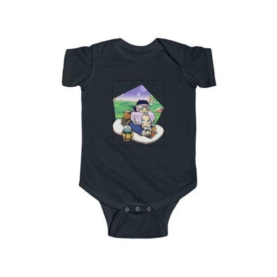 Dragon Ball Z Cute Chibi Trunks Story Telling Baby Suit 24M