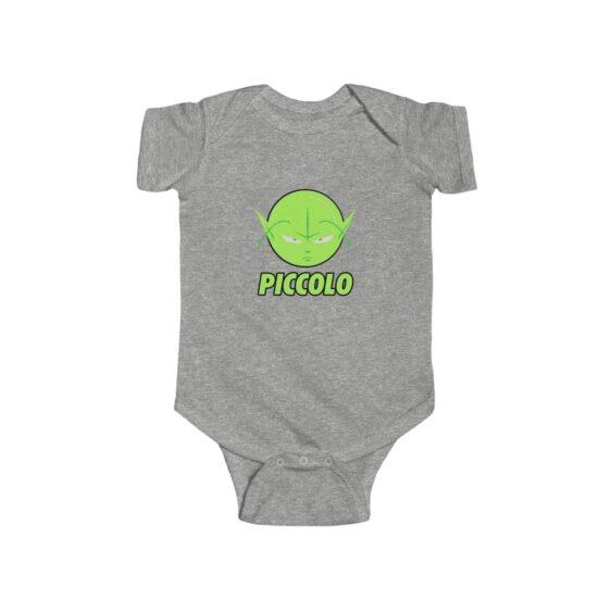 Dragon Ball Z Piccolo Cute Icon New Born Infant Bodysuit