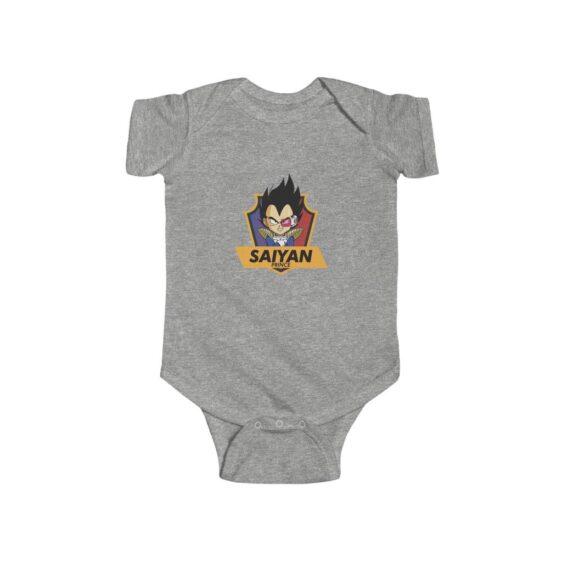 Dragon Ball Z Saiyan Prince Vegeta Cute New Born Onesie