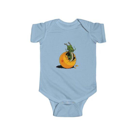 DBZ The Marvelous Shenron Simple New Born Infant Onesie