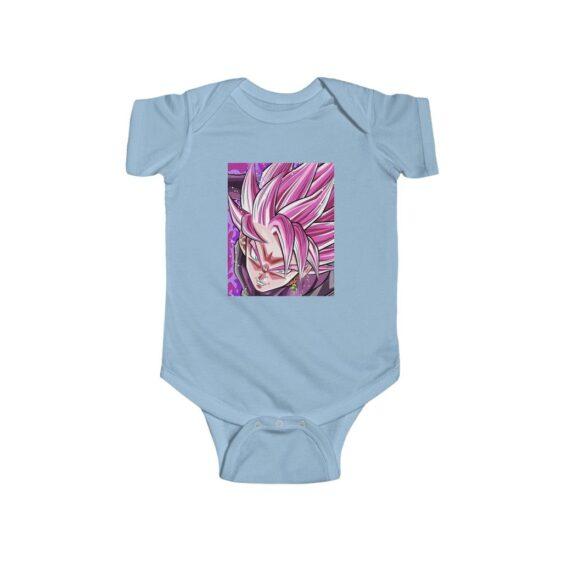 Dragon Ball Z Goku Black Super Saiyan Rose Awesome Baby Onesie