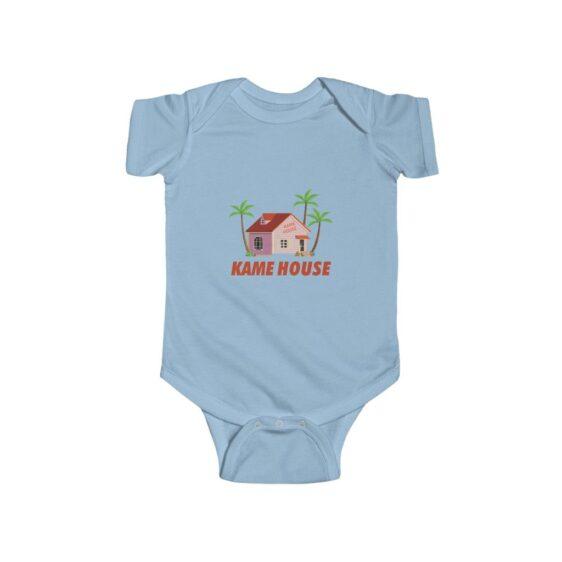 Dragon Ball Roshi's Kame House New Born Baby Bodysuit