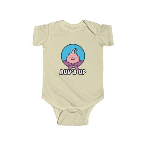 Dragon Ball Z Majin Buu'd Up Cute New Born Infant Onesie