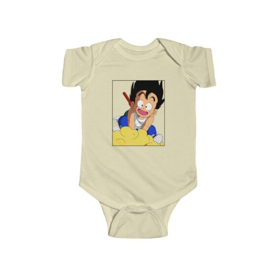 DBZ Kid Goku With Nimbus Flying Awesome Onesie 24M