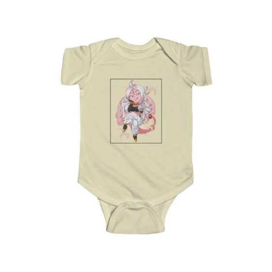 Dragon Ball Z Cute Chibi Android 21 Baby Suit Onesie 24M