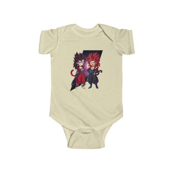 Dragon Ball Z Cute Chibi Vegito and Gogeta Baby Suit Onesie
