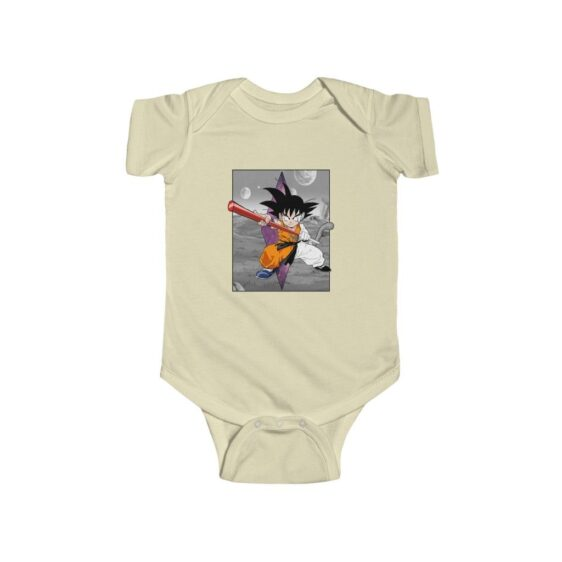 Dragon Ball Z Cute Kid Goku Out Of Comics Baby Suit Onesie 24M