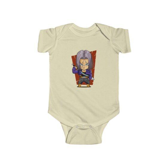 Dragon Ball Future Trunks Chibi Dope Art Toddler Bodysuit