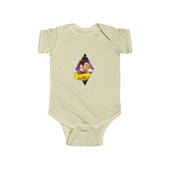 Dragon Ball Z Cute Kid Goku & Krilin Baby Suit Onesie 24M