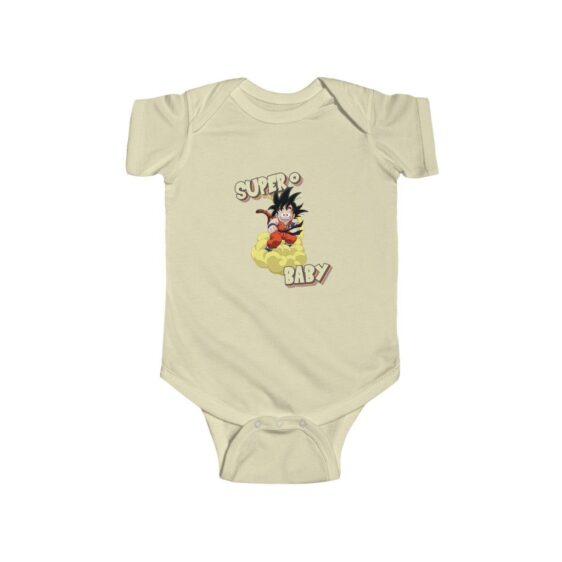 Dragon Ball Flying Kid Goku Super Baby Toddler Onesie