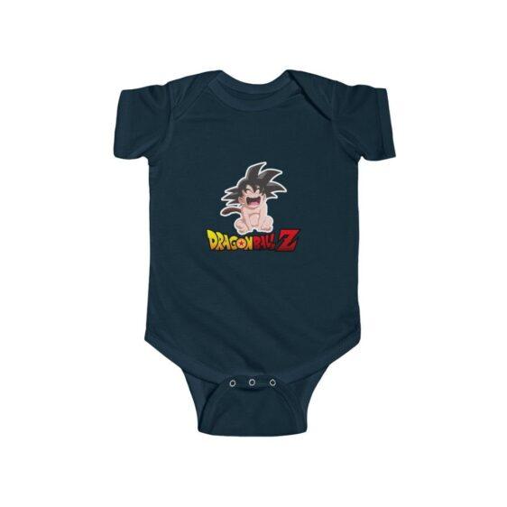 Dragon Ball Z Cute Baby Goku Crying Baby Suit Onesie 24M