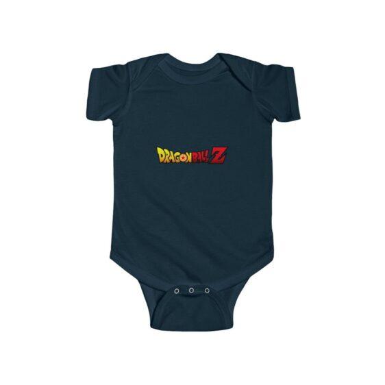 Dragon Ball Z Official Logo Infant NB 24M Jersey Bodysuit
