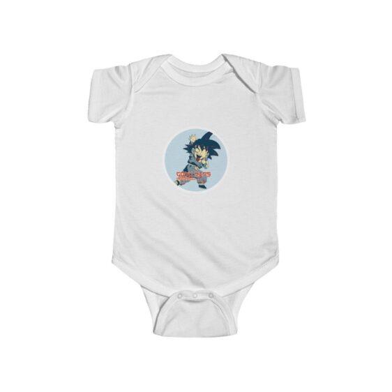 Dragon Ball Z Cute Goku Naughty Face Baby Suit Onesie 24m
