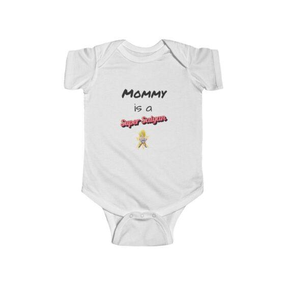 Dragon Ball Z Mommy Is A Super Saiyan Cute Toddler Bodysuit
