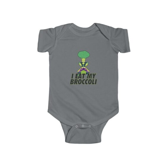Dragon Ball I Eat My Broccoli Broly New Born Baby Onesie