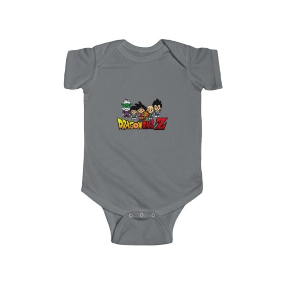DBZ Cute Piccolo Gohan Goku Vegeta Krillin Baby Onesie