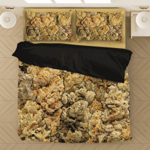 Assorted Collection Of Wonderful Weed Dope Bedding Set