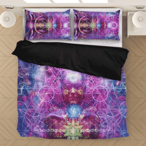 Awakened Chakra Yoga Meditation Awesome Art Bedding Set