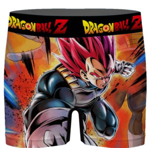 DBZ Attacking Vegeta Super Saiyan God Cool Men's Underwear