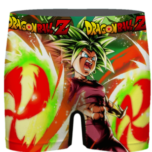 DBZ Caulifla Universe 6 Leader Of Saiyan Punks Men's Underwear