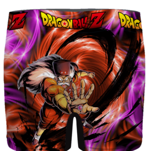 DBZ Dr. Gero Android 20 Ecstatic Print Men's Underwear - back