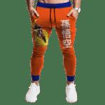 DBZ Flying Nimbus Japanese Son Goku Awesome Tracksuit Bottoms