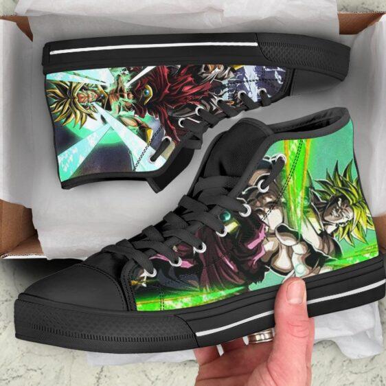 DBZ Legendary Super Saiyan Broly Energized Dope Sneaker Shoes