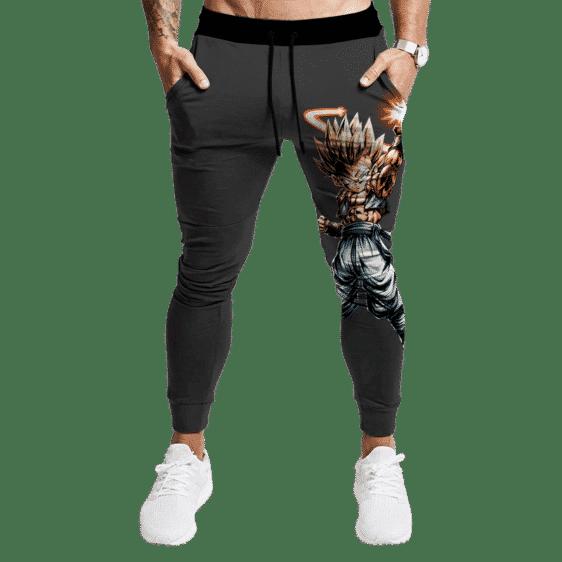 DBZ Legends Art Super Saiyan 2 Gotenks Fantastic Dark Joggers