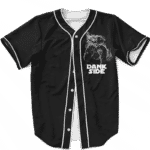 Darth Vader Smoke Dank Side Spoof Parody Baseball Jersey