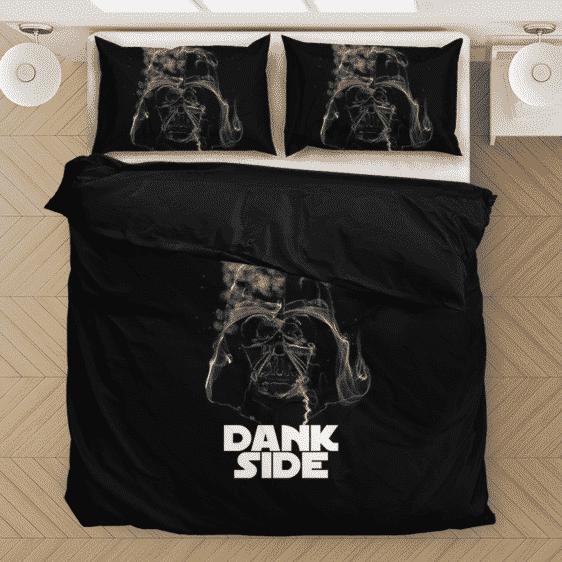 Darth Vader Smoke Dank Side Spoof Parody Bedding Set
