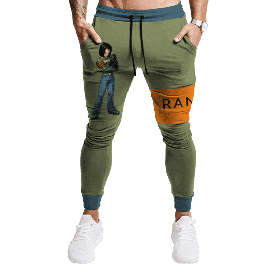 Dragon Ball Android 17 MIR Ranger Theme Awesome Joggers