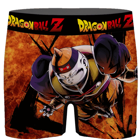 Dragon Ball Android 19 Flame Explosion Men's Boxer Brief