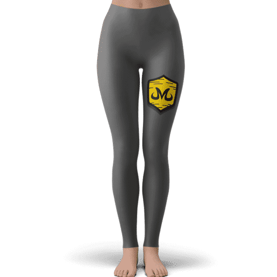 Dragon Ball Babidi Team Emblem Majin Gray Awesome Leggings
